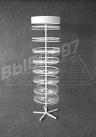 Крючки для ниток Мулине 544 места с рекламным топером. Торговое оборудование.