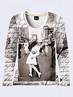 Лонгслив Поцелуй на Таймс-сквер