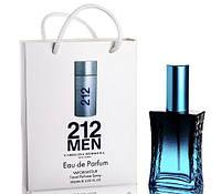 Мини парфюм 212 MEN Carolina Herrera в подарочной упаковке 50 ml