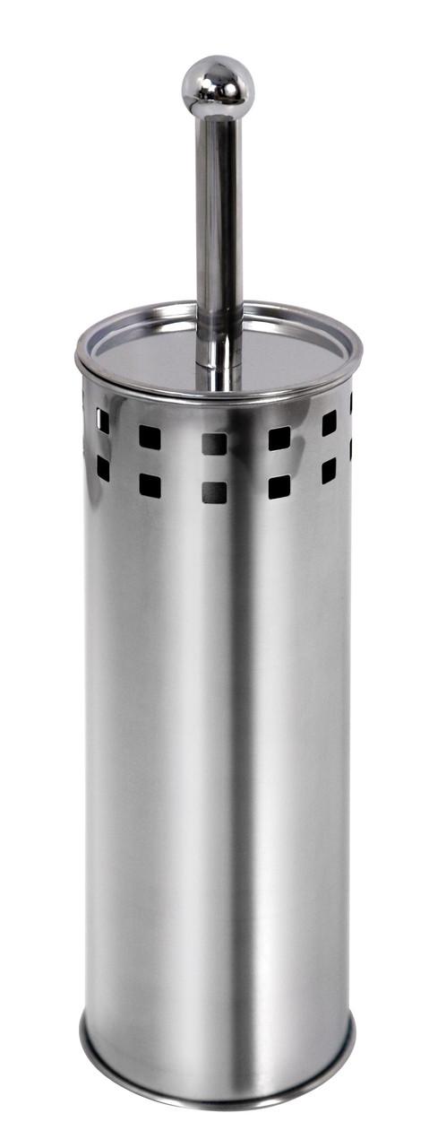 Ершик для унитаза металлический с отверстиями AWD02020007