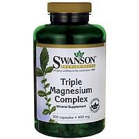 Тройной комплекс магния (400 мг) 100 капс.