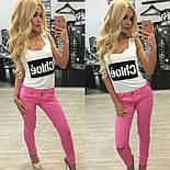 Женские модные джинсы (2 цвета) + (Большие размеры), фото 5