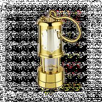 """Сувенир латунный """"Шахтерская лампа"""" в позолоте 2.13.0103лп"""