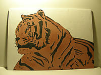 Картина панно ТИГР