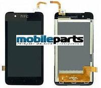 Оригинальный дисплей  (модуль) + сенсор (тачскрин)  для HTC Desire 210 (черный)