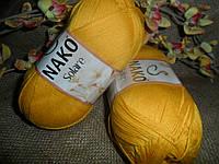 Nako Solare (Нако Соларе)6949 желтый100 % египетский хлопок
