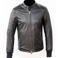 Стильная мужская кожанная курточка из мягкой кожи, оригинал Montecatena  C.R. Joyita размер S
