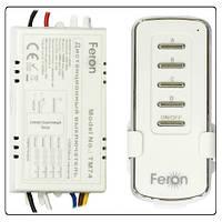 Дистанционный выключатель света Feron ТМ74 (4х канальный)