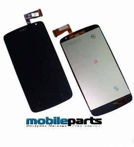 Оригинальный дисплей  (модуль) + сенсор (тачскрин)  для HTC Desire 500 | 506e (черный)
