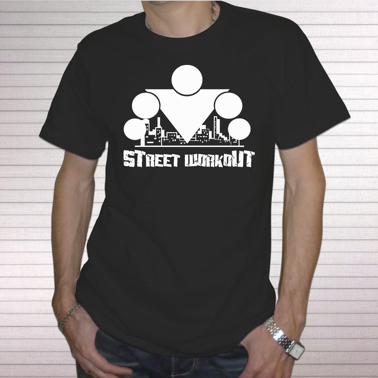 """Мужская футболка """"Street workout 2"""""""