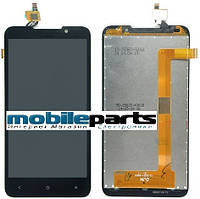 Оригинальный  дисплей (модуль) + сенсор (тачскрин)  для HTC Desire 516 (черный)