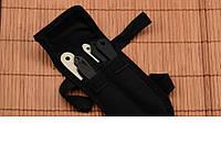 Набор метательных ножей 6 штук + чехол,походные ножи, туристический, метательные ножи