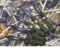 Набор метательных ножей Пугач, походные ножи, туристический, метательные ножи