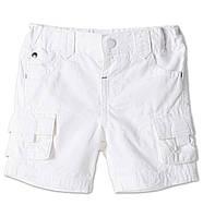 Детские летние шорты C&A для мальчика (белые)
