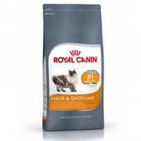 Royal Canin Hair&Skin Care для взрослых кошек с проблемной кожей и шерстью - 10 кг