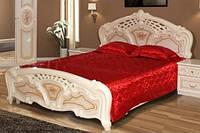 Кармен нова; Кровать 160  (Світ меблів)без матраса и каркаса
