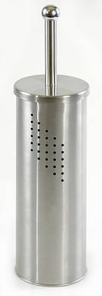 Ершик для унитаза с отверстиями стальной AWD02020218