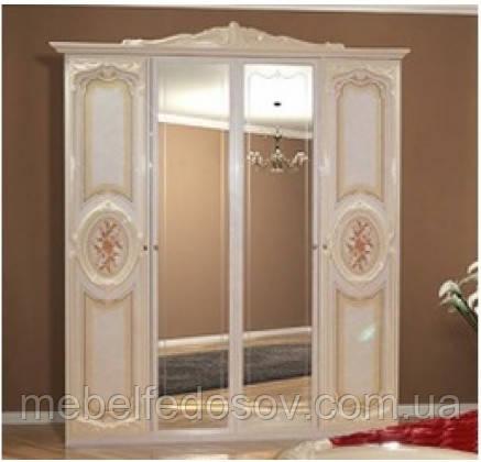 Шкаф 4Д Кармен нова  (Світ меблів) 1905х645х2330мм