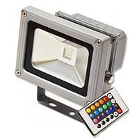 Светодиодный LED прожектор Feron LL-180 10W RGB с пультом управления, фото 1
