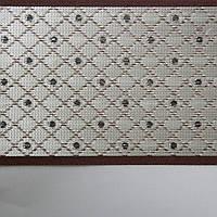 Рулонные шторы День-ночь Ткань Стразы Какао