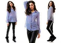 Женская легкая шифоновая блузка