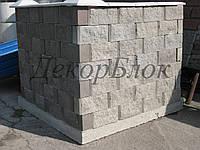 Блок декоративный 400х200х120  2ф для забора
