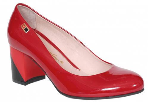 1ba5a9fe7 Туфли женские лаковые красные кожаные ТМ Лидер, 2896.25: продажа, цена в  Херсонской области. туфли женские от