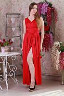 Свободное яркое легкое летнее молодежное платье.