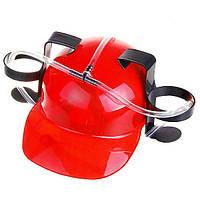 Алко-шлем для напитков Красный