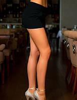 Стильные женские шорты черные