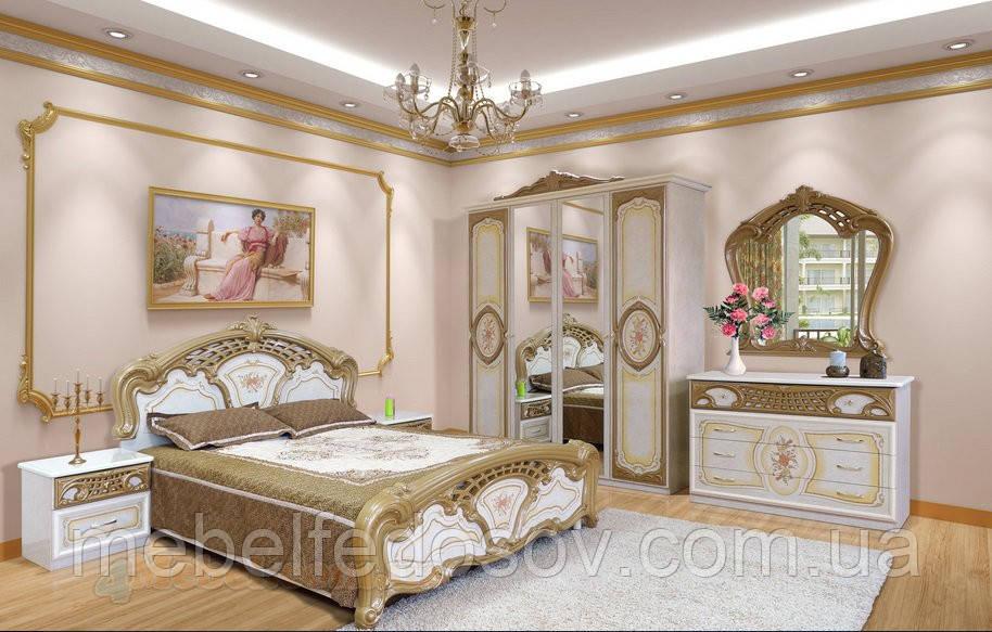 Спальня 4Д Кармен нова  (Світ мебелів)