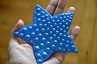 Звезда ОРТО синяя. Мини-коврики в ванную