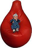 Кресло-мешок Груша 100 см Эко Кожвинил (цвета в ассортименте), фото 2