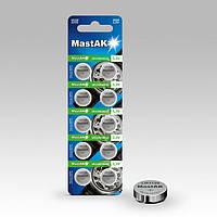 Часовая батарейка MastAK Alkaline G10/389/LR1130