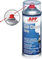 Средство для очистки пульверизаторов от остатков обычных лаков APP Gun Cleaner в аэрозоле, 400мл