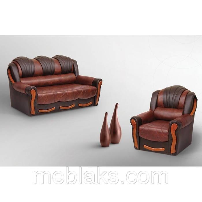 Комплект диван + 2 кресла  Лидия (алеко)   Udin
