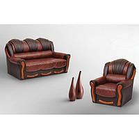 Комплект диван + 2 кресла  Лидия (алеко)