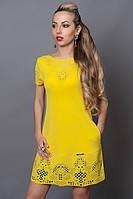 Платье женское с перфорацией оптом и в розницу