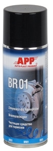 Препарат для очистки тормозной системы и двигателей APP BR 01 в аэрозоле, 400 мл
