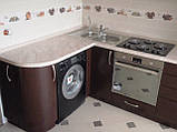 Кухня на заказ МДФ крашеный. Fasoff, фото 5