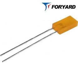 Світлодіод жовтий 5x2mm. FYL-2513 YD 10-15mсd (585nm) прямокутний, дифузний, 120 ° FORYARD