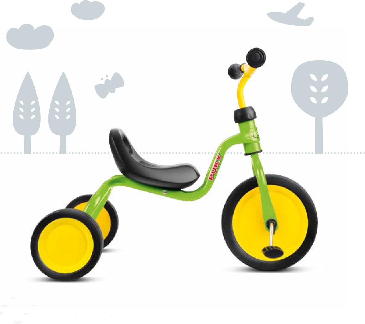 414 Трехколесный велосипед Puky Fitsch  (2508, салатовый(kiwi)) (TORG4141130)