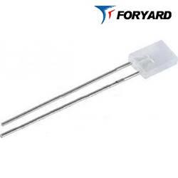 Світлодіод синій 5x2mm. FYL-2513 UBC 3000mсd (470nm) прямокутний, прозорий, 120 ° FORYARD