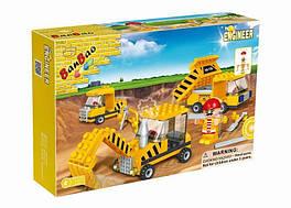 BanBao 8126 Стройтехника 132 дет 4+