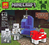 LELE Minecraft 78086C Майнкрафт 70 дет 6+