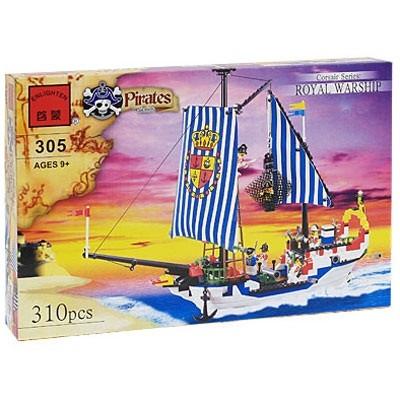 Брик 305 Пираты 310 дет 9+ Enlighten