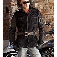 Джинсовая стильная легкая мотокурточка итальянского производителя Montecatena  Tonajuka Black размер L, XL