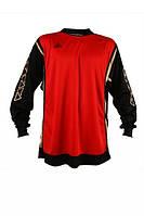 Футбольная вратарская кофта Liga Sport (Красная с черным)