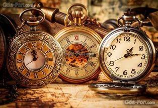Часы карманные ретро