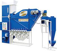 Аэродинамический  сепаратор зерна САД-5 с циклоном для очистки зерна